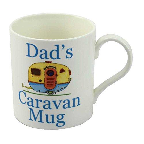 "Leonardo Tasse, Porzellan, Aufschrift: \""Dad´s Caravan Mug\"", in Geschenkschachtel"