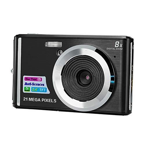 XHXseller Kompakte Digitalkamera, ultradünne Anti-Shake-Gesichtserkennung C4 Tragbare Zoom-LCD-Display-Digitalkamera für Familie, Freunde, Schule, Studenten, Urlaub