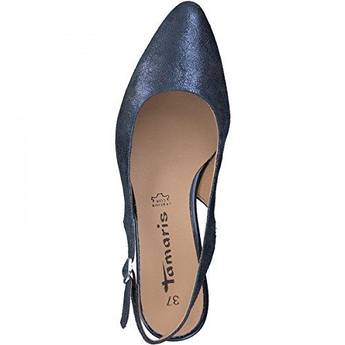 Tamaris 1-29612-20 Calzature Donna Sandali Sling Blau