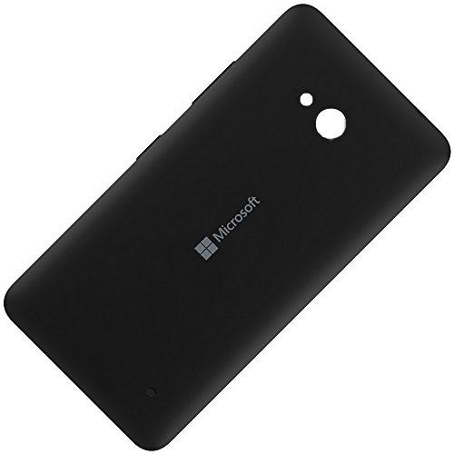 Copribatteria originale per microsoft lumia 640 xl lte dual sim, colore: nero