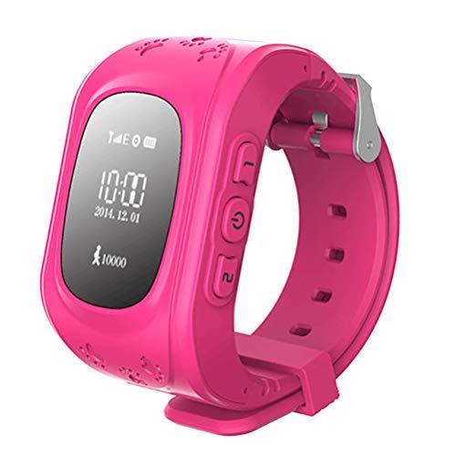 smart watch FüR Kinder Geburtstagsgeschenke Kinder Smartwatch SOS Anruf GPS MäDchen Jungen Anti-Verlorene Finder Voice Chat FüR Android Und Ios-DREI Farben Optional