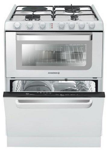 Rosieres TRM 60 RB appareil de cuisine combi - appareils de cuisine combi (Blanc, Electrique, Combiné, A, A, A)