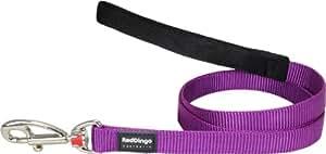 Red Dingo Plain Purple Dog Lead (15 mm x 1.2m)