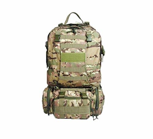 Multifunktionale Im Freien Klettern Kombination Tasche Camping Taktik Tarnung Rucksack Camouflage