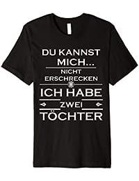 Papa TShirt Lustiges Vater Töchter T-Shirt Geschenk Vatertag