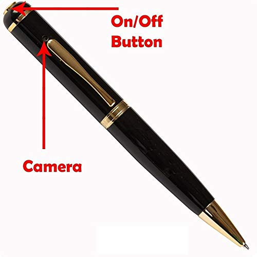 Global Craft Spy Hd Pen Camera with Voice-Video Recorder and Dvr-Hidden-Camcorder (Multi-Color) Model 198483