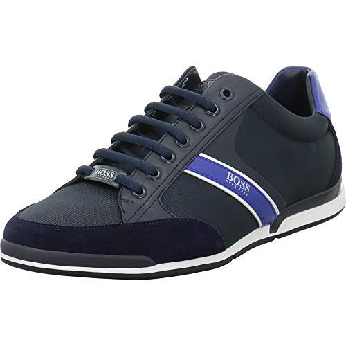 BOSS Hugo Sneaker Low Saturn_Lowp_MX Größe 40 EU Blau (Blau)
