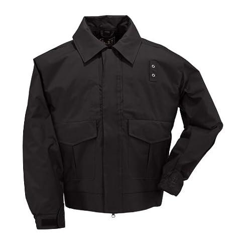5.11 Tactical #48027 4-in-1 Patrol Jacket (Black, Small Short)