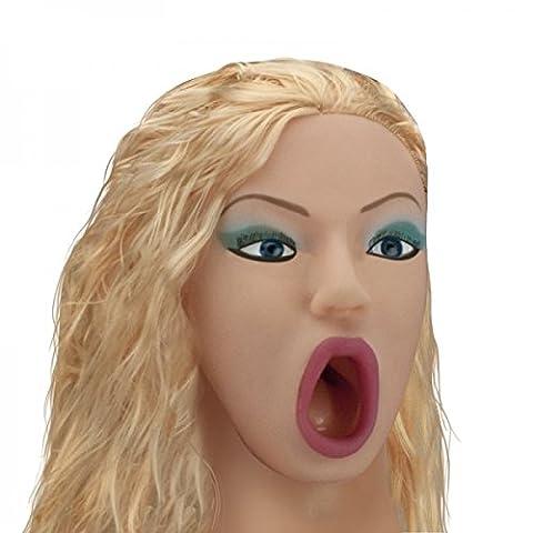 Poupée Manga Gonflable Blonde Gorge Profonde - Collection Vibee-Doll