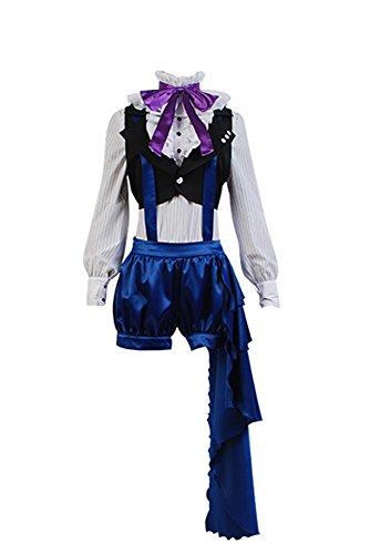 Black Butler 3 Ciel Phantomhive Cosplay Kostüm Damen (Ciel Cosplay Kostüm)
