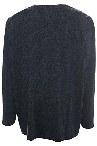 "KITARO Longsleeve T-Shirt ""Berlin"", S-6XL Dunkelblau"