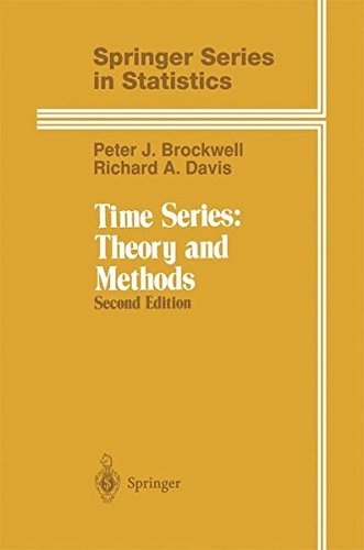 Time Series: Theory and Methods: Vol 2 (Springer Series in Statistics) by P. J. Brockwell (2006-06-01)