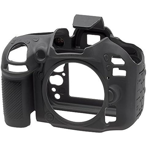 Easycover ECND600B - Funda de silicona para Nikon D600/D610, color negro
