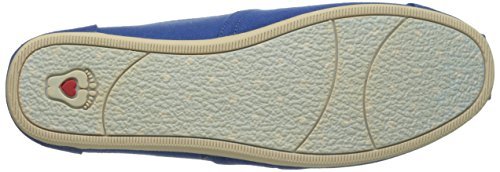 Bobs De Skechers Peluche Peace And Love Flat Royal Blue