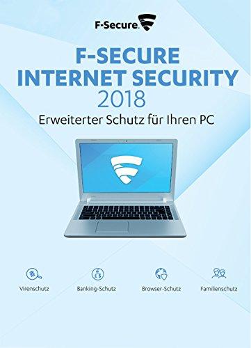 F-Secure Internet Security 2018 Update - 1 Jahr / 3 PCs