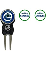 -quipe Golf 15745 Vancouver Canucks Divot Tool Pack