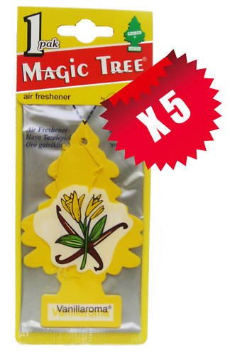 magic-tree-little-tree-vanilla-vanillaroma-car-air-fresheners-x-5