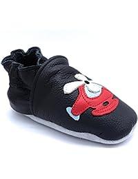889c679b55 LePeppe - Pantofole Scarpe Scarpine Bambino in Morbida Pelle - Prima  Infanzia -Neonato - Bambino