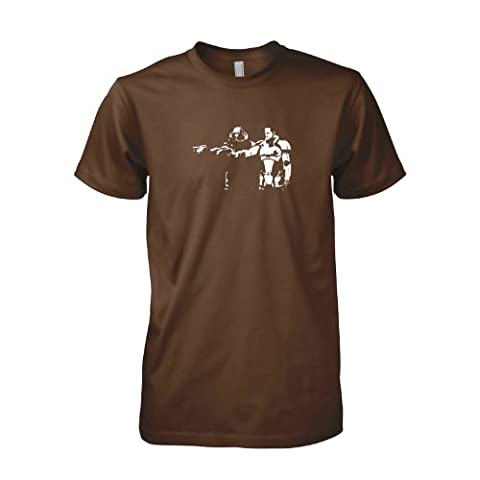 TEXLAB - Mass Fiction - Herren T-Shirt, Größe L, braun