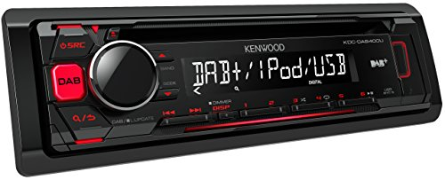 Kenwood KDCDAB400U Digitalautoradio mit CD/USB und Apple iPod-Steuerung - Kenwood Radio Kabelbaum