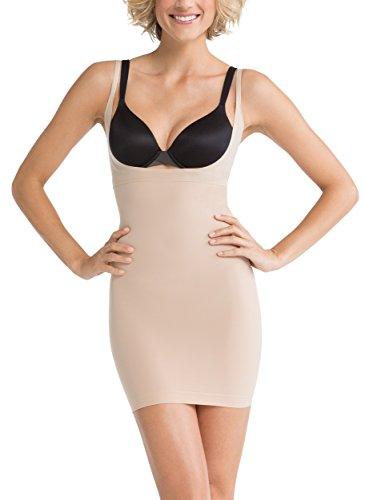 spanx-womens-shape-my-day-open-bust-full-slip-size-medium-in-nude
