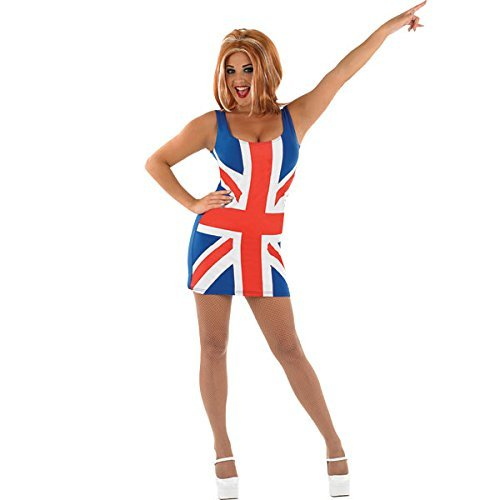 UNION JACK DRESS (Pop Stars Kostüme Ideen)
