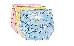 Baby Joy Cotton Water Proof Diaper ,(0-3 Months) Mini,3 Pcs,Multicolor.