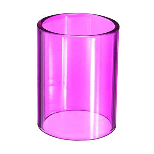 DyNamic Farbige Verdrängung Pyrex Glasröhrenbehälter Sleeve 22Mm Für Joyetech Ultimo 7 Farben - Purpurn