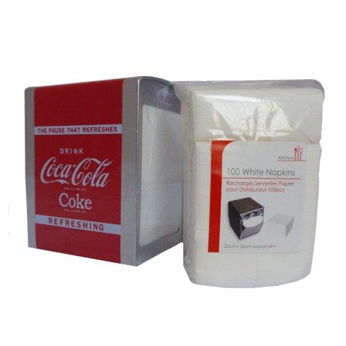 official-coca-cola-napkin-serviette-dispenser-napkin-refill-provided