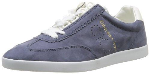 Calvin Klein Jeans ABBOTT WASHED NUBUCK/SMOOTH SE8184 Herren Bootschuhe Blau (NWH)