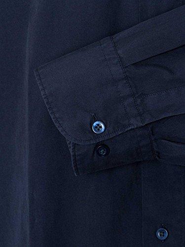 CASAMODA SPORTS Uomini Camicia per ufficio maniche 65 cm Comfort Fit Blu scuro