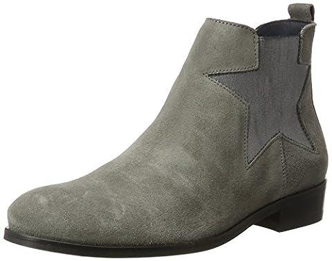 Tommy Hilfiger Damen P1285OLLY 11B Chelsea Boots, Grau (Light Grey), 38 EU