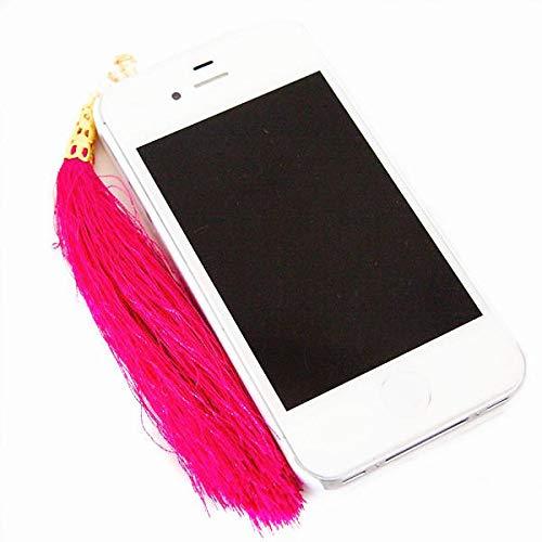 K8U146 @FATO Modische Vintage Style Cotton Fäden Quasten Stecker 3.5mm Staub-Stecker für iPhone Samsung Xiaomi -