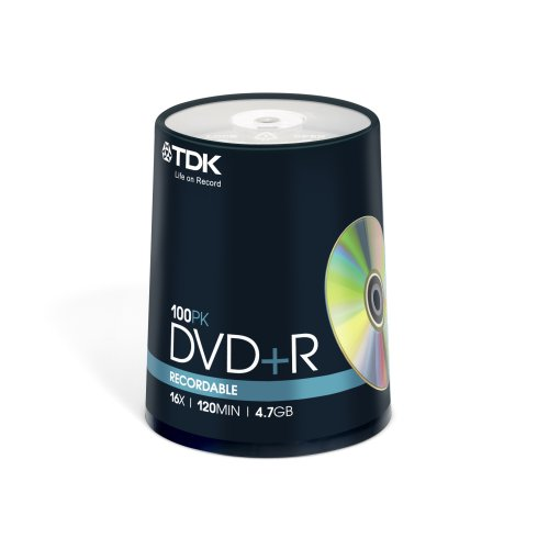 tdk-t19504-16x-dvd-r-100-piece-cakebox