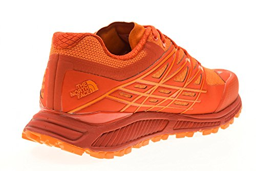 The North Face M Ultra Endurance, Chaussures de Trail Homme Orange