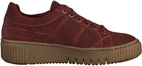 Tamaris Damen 23721 Sneaker Rot (Merlot) Hqjq3M