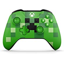 Microsoft Xbox One, Controller Wireless, Edizione Limitata Minecraft, Verde