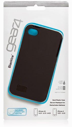 Black Ice für iPhone 4S Schwarz