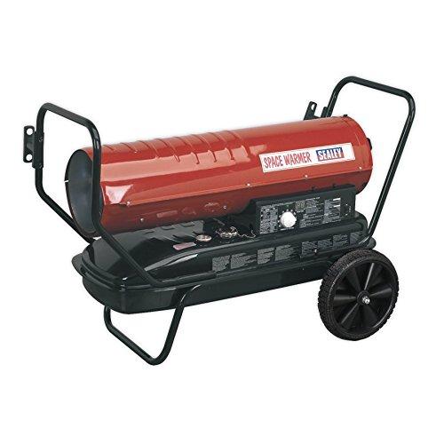 SEALEY AB1008Platz Wärmer Paraffin/Kerosin/Diesel Heizung mit Rädern (Kerosin Home Heizung)