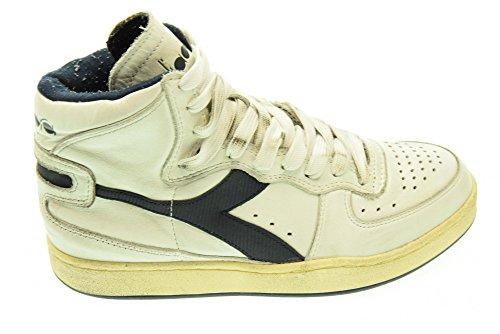 Heritage Used Herren Basket Mi High 158569 Sneaker Diadora Nero Bianco vfwq7Rxdv