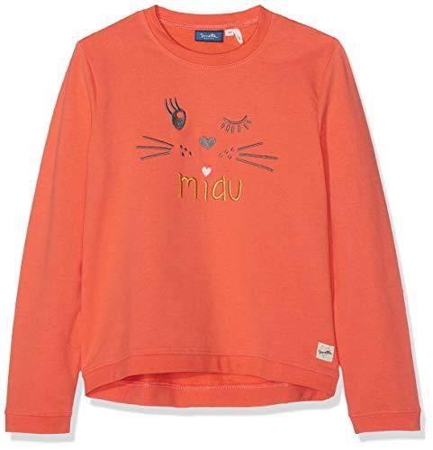 Sanetta Mädchen Sweatshirt, Rot (Golden Flame 2467), 98