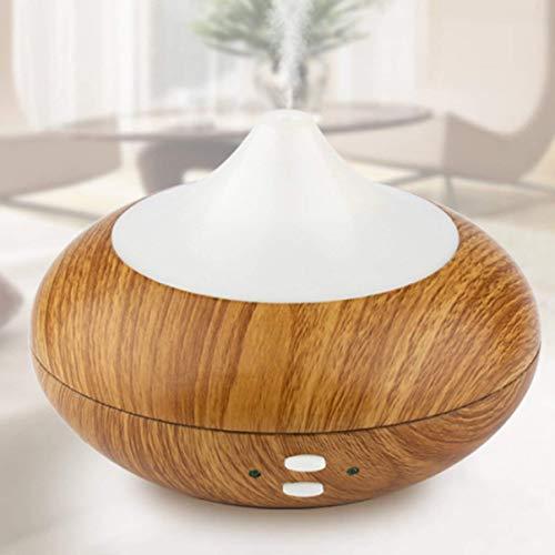 askeo 100ML Difusor de aroma ultrasónico humidificador purificador de aire A Luz fría con 7colores LED-para el Dormitorio, Salón, Sala de conferencias, salones de belleza, SPA, Yoga