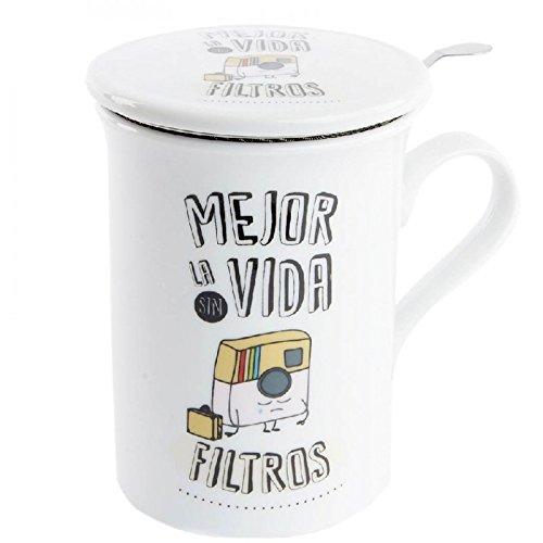 Taza de té Mejor la vida sin filtros ' en caja de...