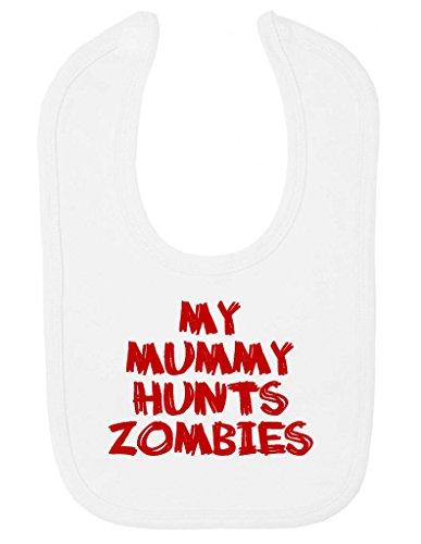 my-mummy-hunts-zombies-funny-zombie-hunter-bavoir-avec-fermeture-velcro-pour-bebe