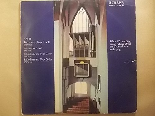 Edward Power Biggs an der Schuke-Orgel der Thomaskirche zu Leipzig