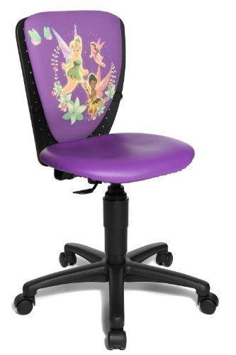 Topstar Kinder Drehstuhl Bürostuhl High S`Cool 3 Fairies lila von Disney