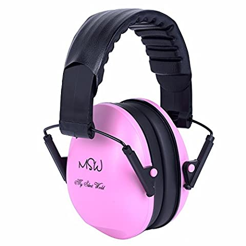 Einstellbare Gehörschutz Ohrenschützer für Kinder und Erwachsene, Faltbare Geräusche Stornierung