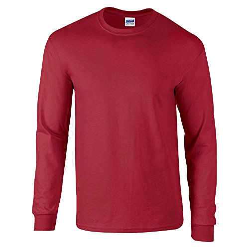 GILDANHerren T-Shirt Rot - Cardinal Red