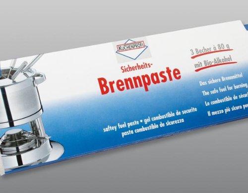 Küchenprofi Sicherheits-Brennpaste 3er Set (H.Nr.2180000000)