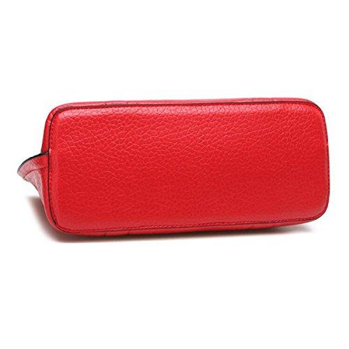 Catena Tracolla Pacchetto Diagonale Lingge Borse In Pelle Modello Pioggia,Green red